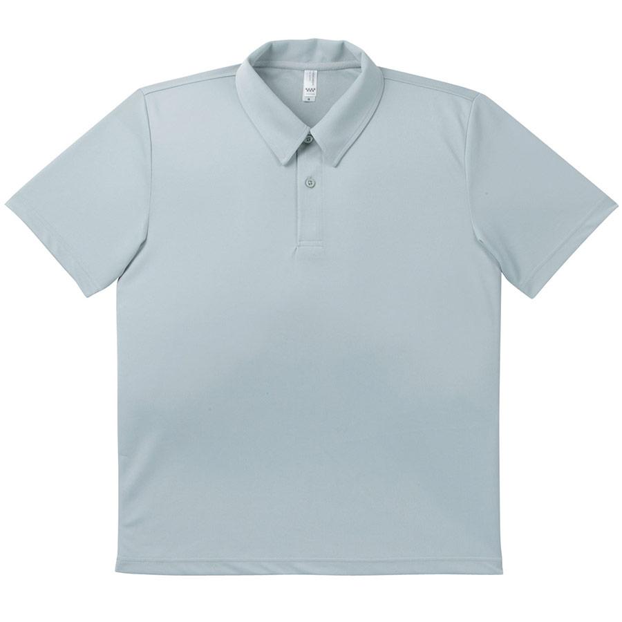 ドライポロシャツ MS3107−2 グレー