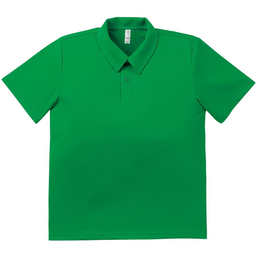 ドライポロシャツ MS3107−34 グリーン
