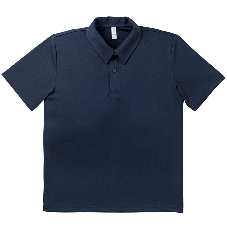ドライポロシャツ MS3107−8 ネイビー