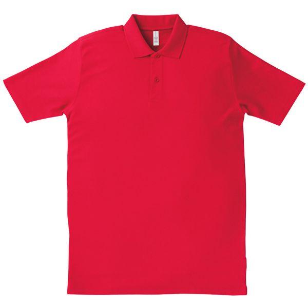 イベントポロシャツ MS3108−3 レッド