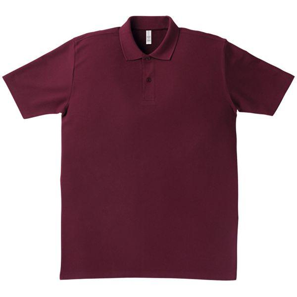 イベントポロシャツ MS3108−23 バーガンディ
