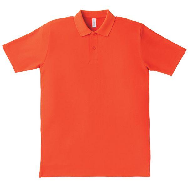 イベントポロシャツ MS3108−13 オレンジ