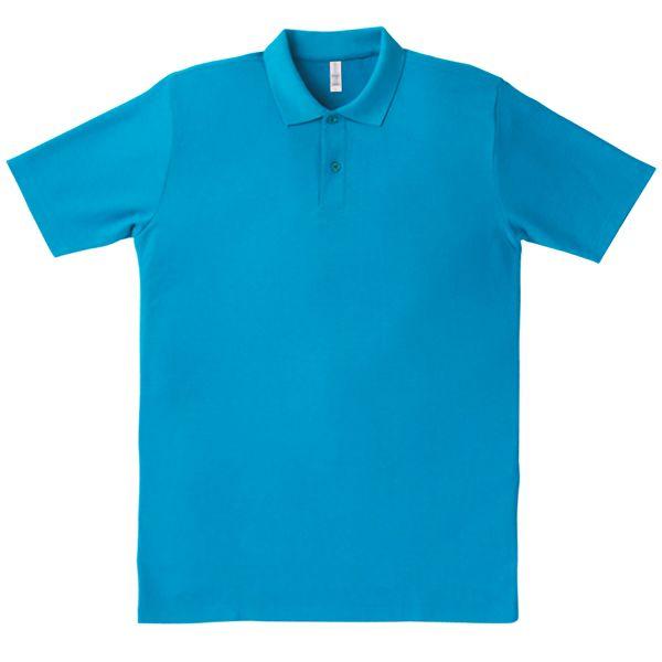 イベントポロシャツ MS3108−26 ターコイズ