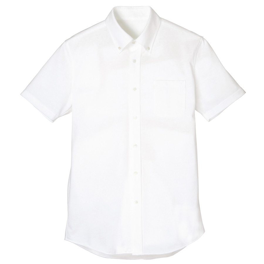 メンズ 半袖シャツ FB5022M−15 ホワイト