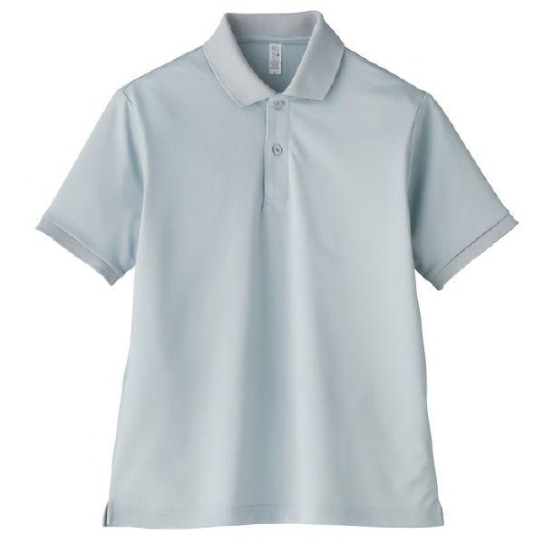 ポロシャツ ユニセックス MS3111−2 グレー (GS〜5L)