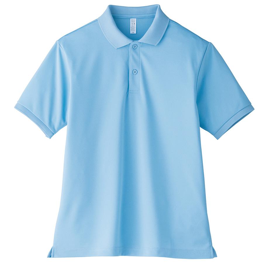ポロシャツ ユニセックス MS3111−6 サックス (110〜5L)
