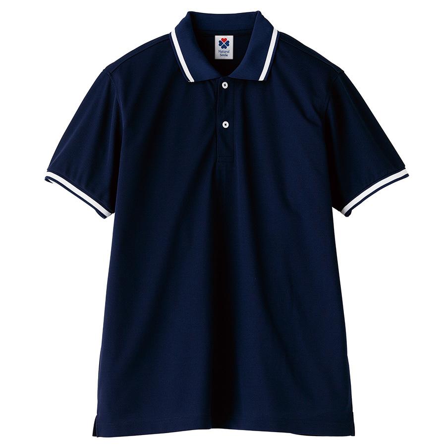 ポロシャツ ユニセックス TB4500U−8 ネイビー (SS〜4L)