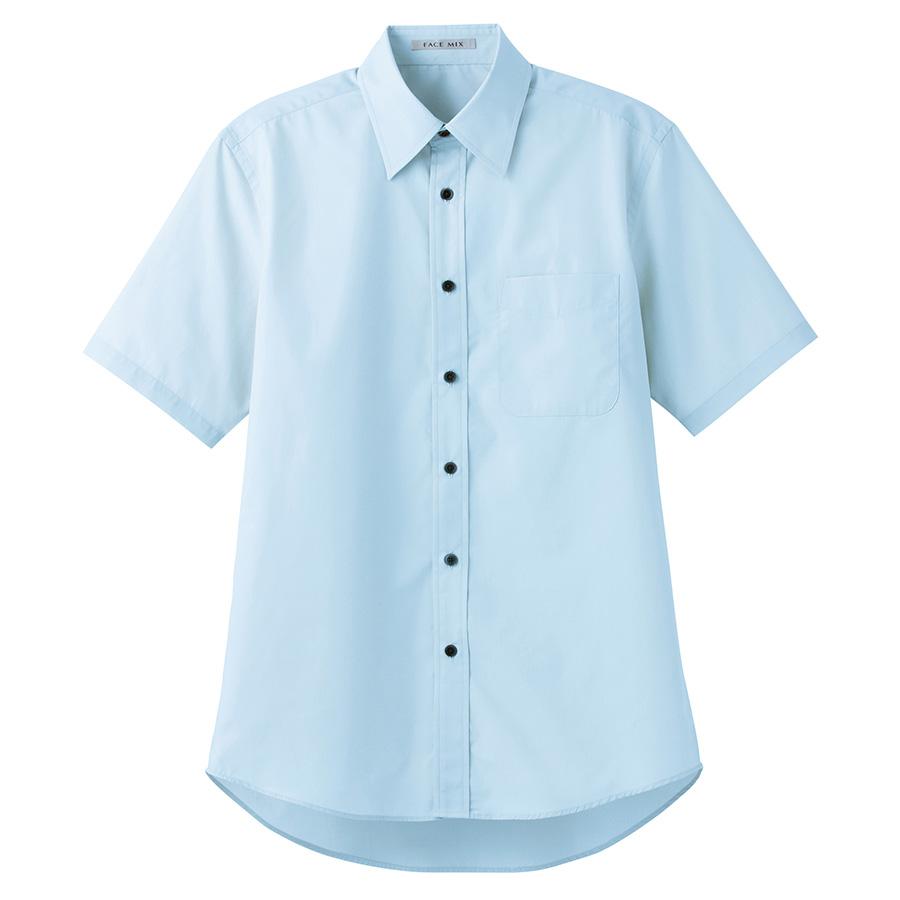 ブロードレギュラーカラー 半袖シャツ FB4527U−7 ブルー