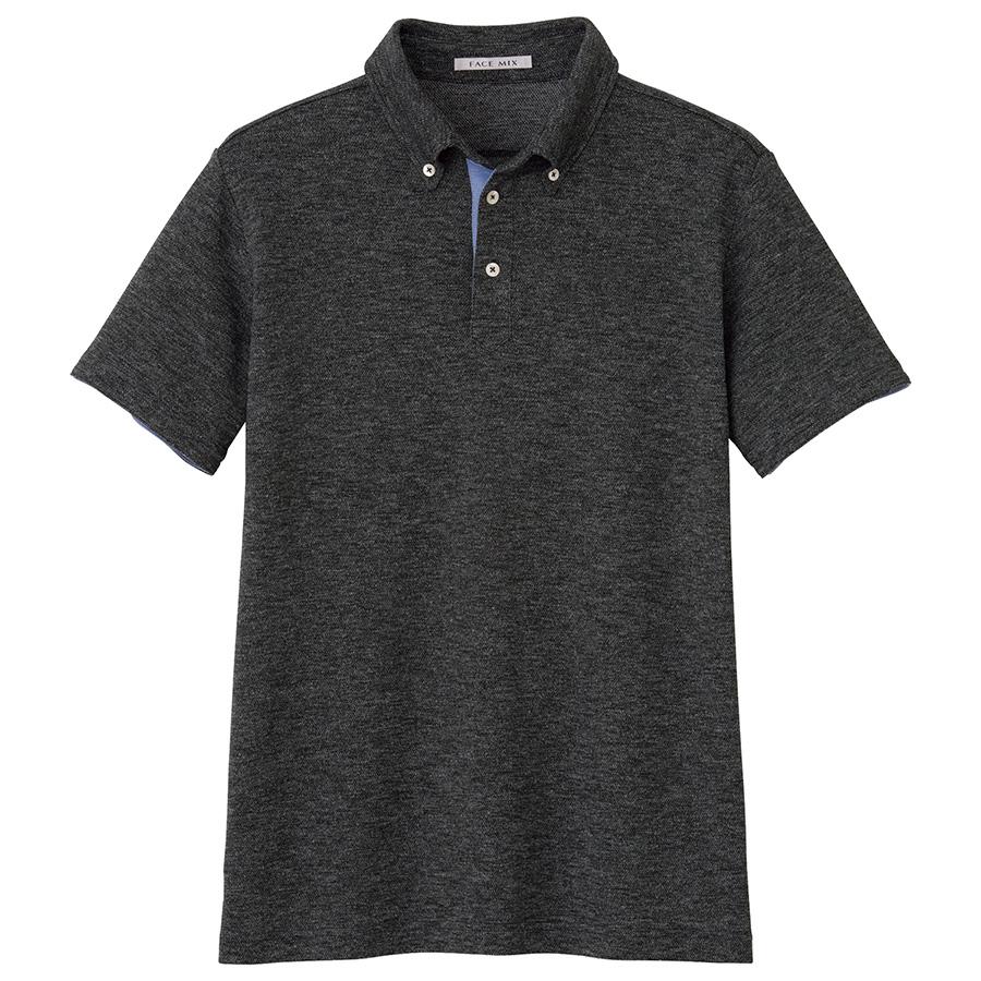 ユニセックス吸汗速乾ポロシャツ FB4531U−2 グレー
