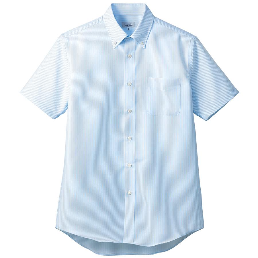 吸汗速乾 メンズ 半袖シャツ FB5036M−6 ブルー