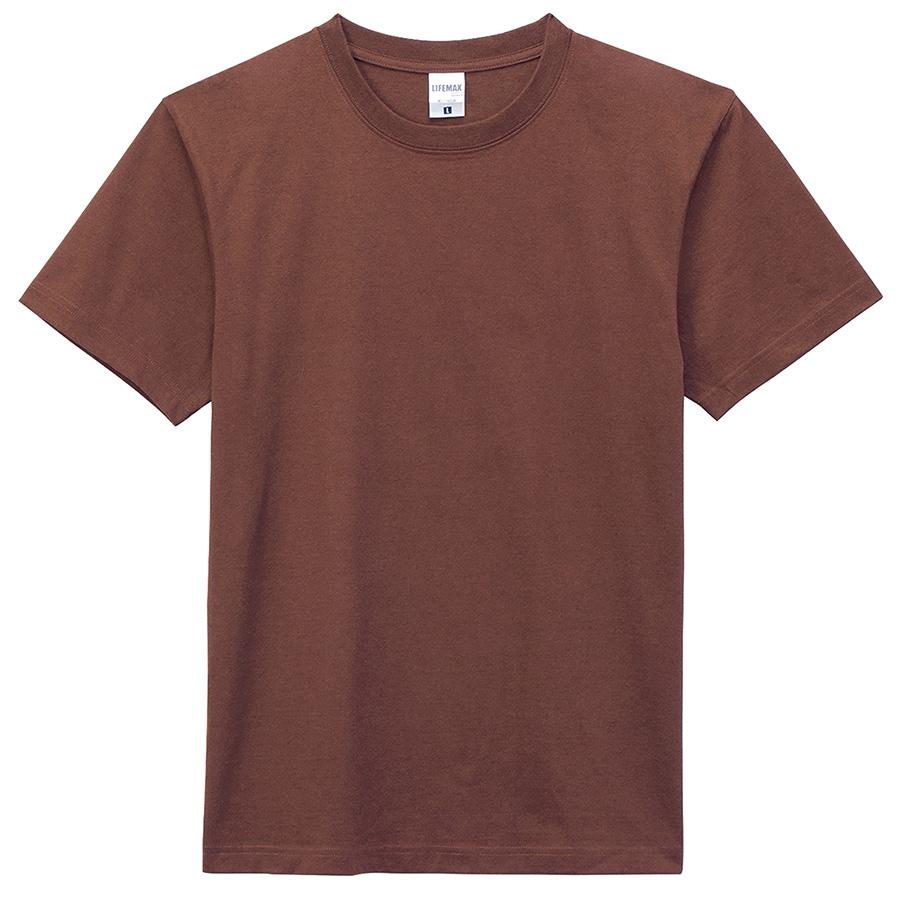 6.2オンス ヘビーウェイトTシャツ MS1149−5 ブラウン