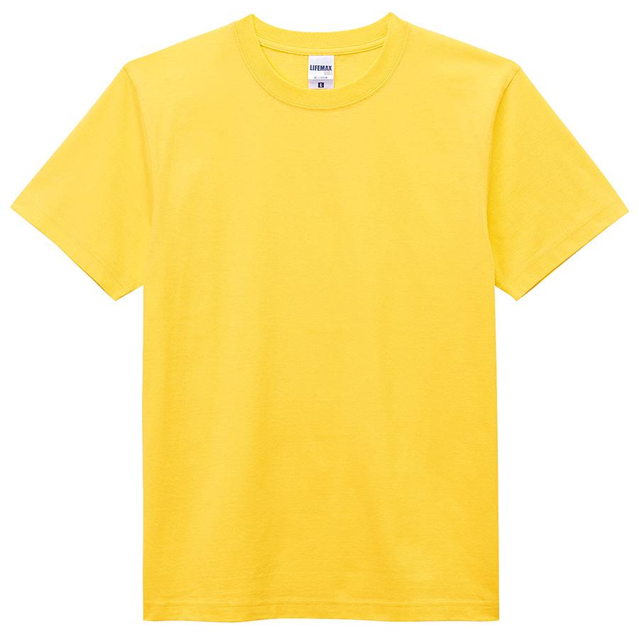 6.2オンス Tシャツ MS1149−10 イエロー