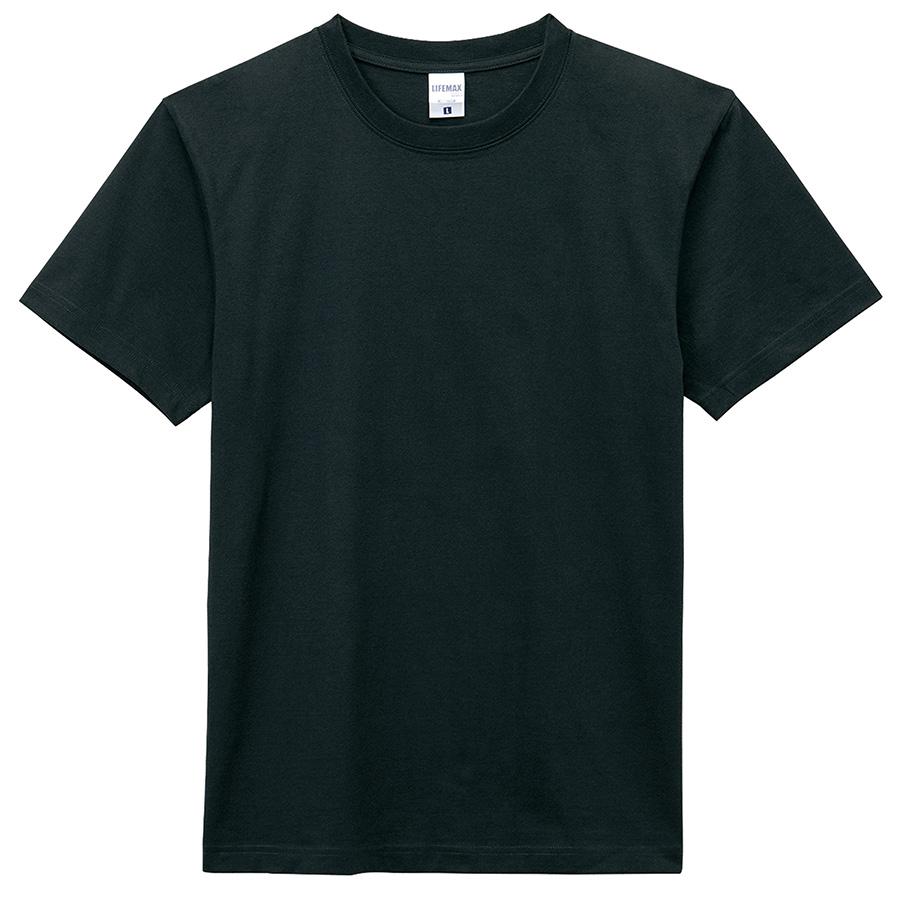 6.2オンス Tシャツ MS1149−16 ブラック