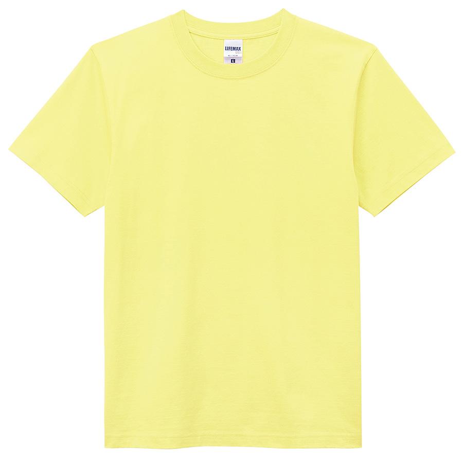 6.2オンス Tシャツ MS1149−20 ライトイエロー