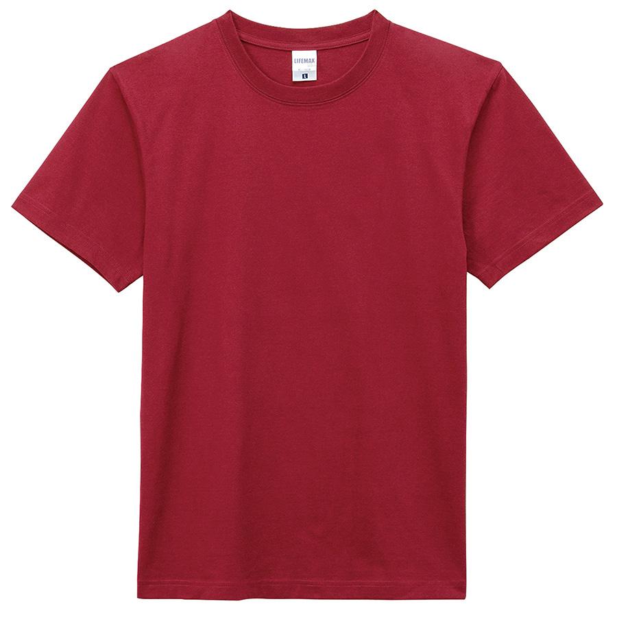 6.2オンス Tシャツ MS1149−23 バーガンディー