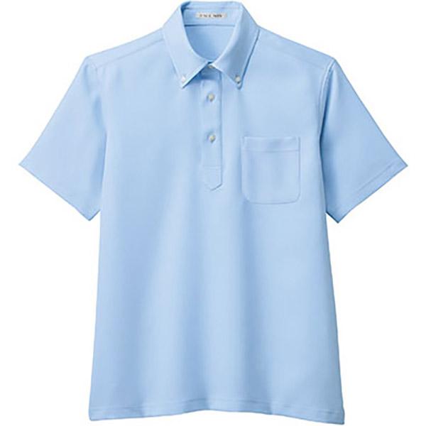 ユニセックス ポロシャツ FB4551U−6 サックス