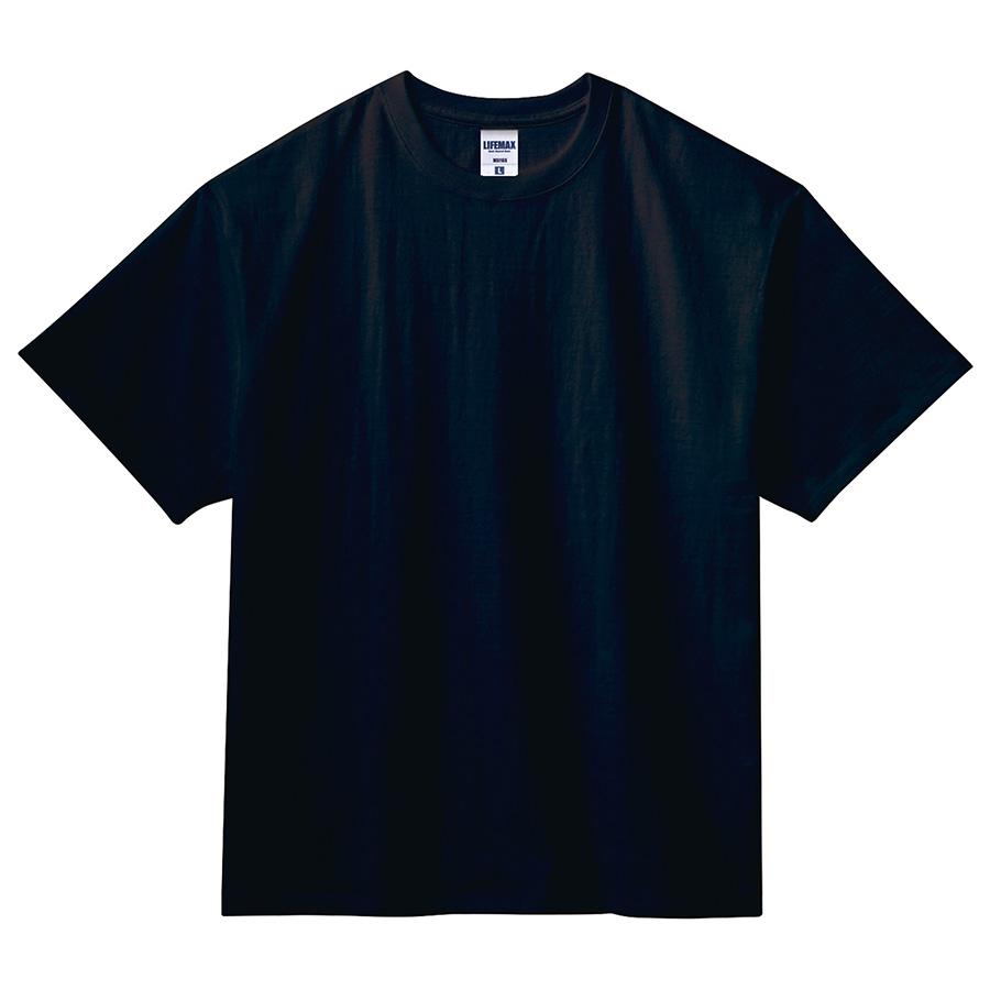 7.1オンス ビッグシルエットTシャツ MS1155−16 ブラック