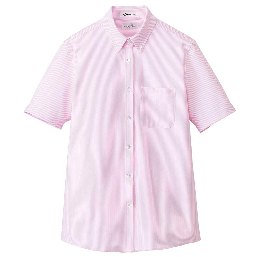レディス ニット吸汗速乾 半袖ブラウス FB4022L−9 ピンク
