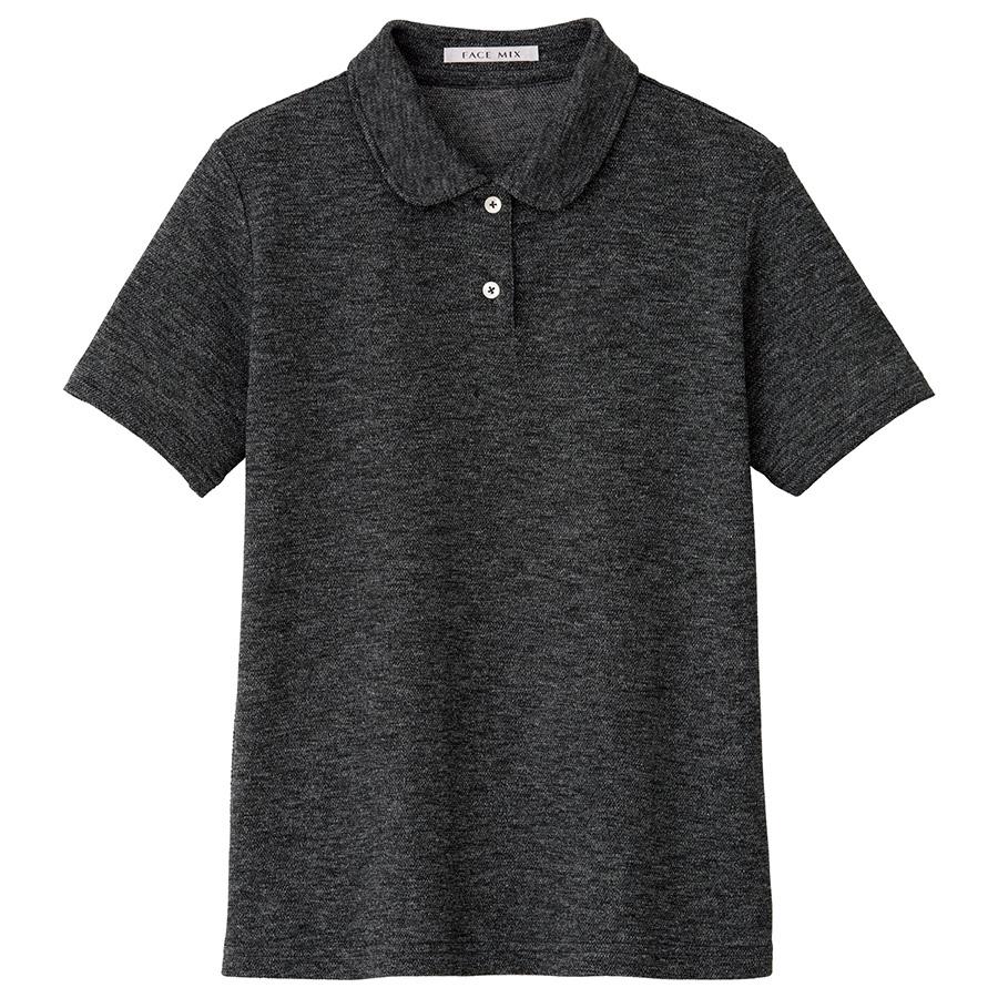 吸汗速乾フラットカラーポロシャツ FB4029L−2 グレー