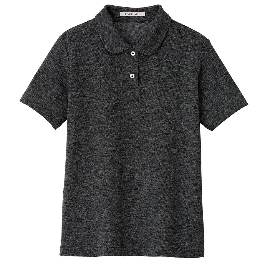 吸汗速乾 フラットカラーポロシャツ FB4029L−2 グレイ (S〜3L)