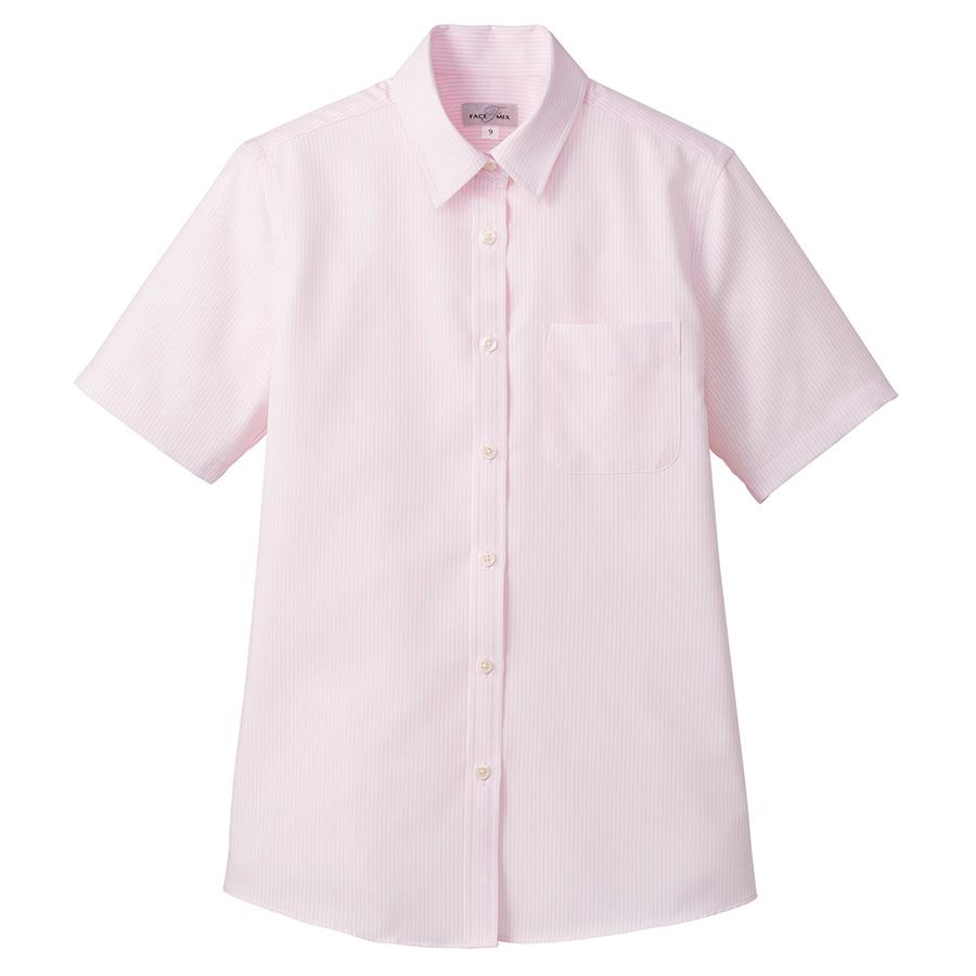 吸汗速乾 レディス 半袖ブラウス FB4031L−9 ピンク