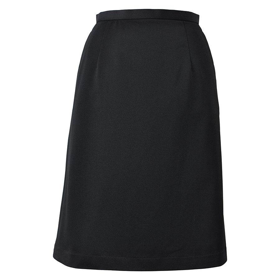 Flexy Aラインスカート LS2737−16 ブラック (5〜19号)
