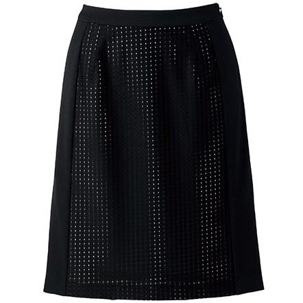 Aラインスカート BCS2702−16 ブラック