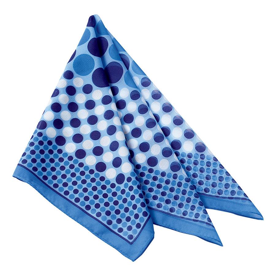 スカーフ BA9131−6 ブルー