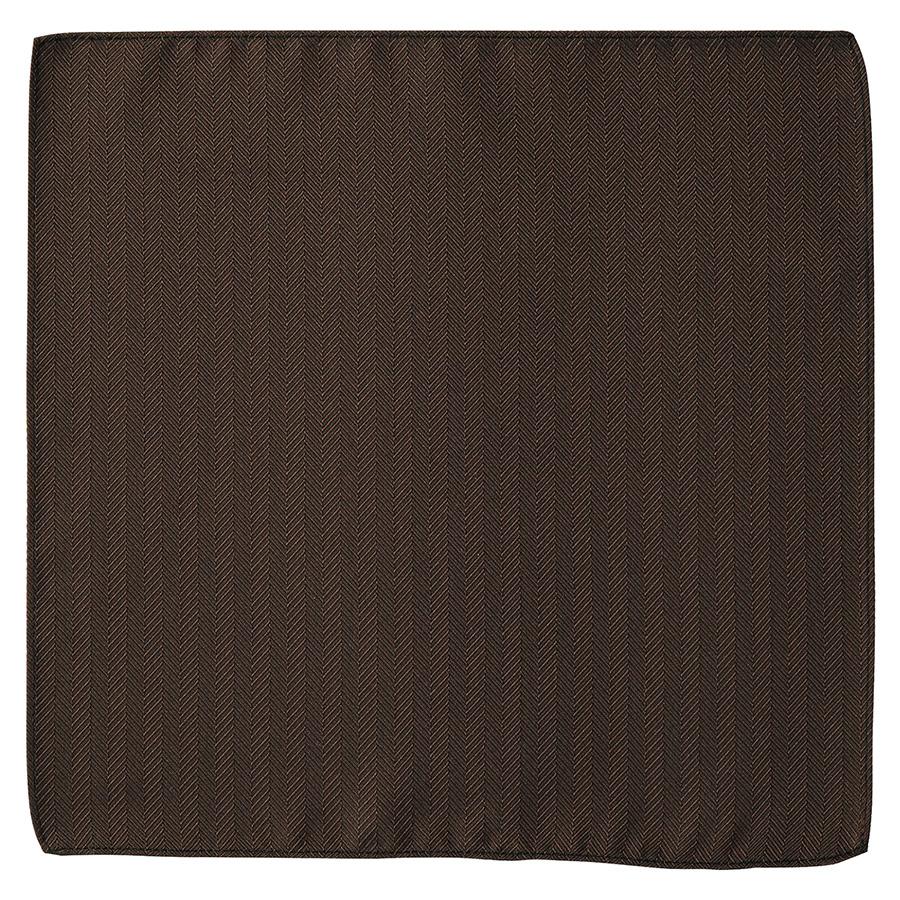ポケットチーフ FA9454−5 ブラウン