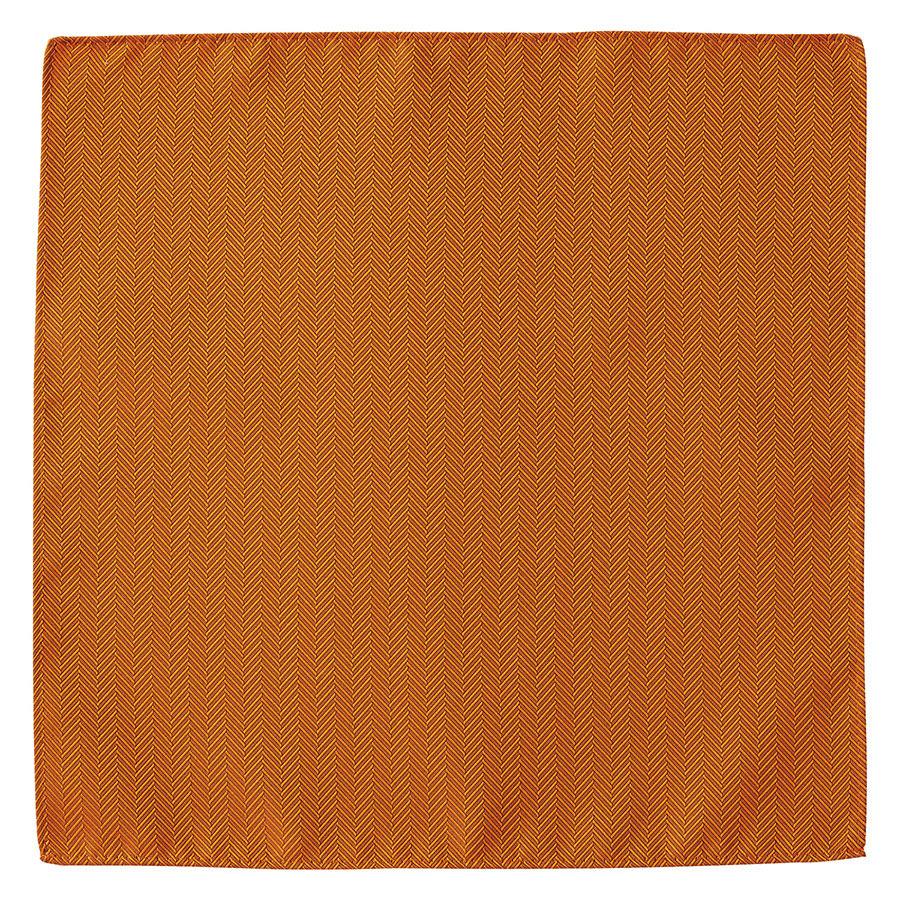 ポケットチーフ FA9454−13 オレンジ