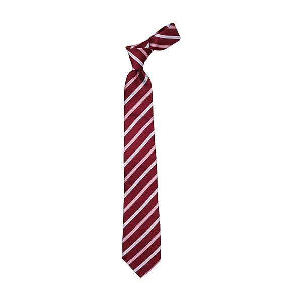 ネクタイ レジメンタル FA9196−3 レッド×ピンク