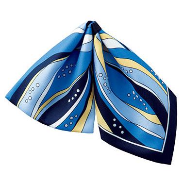 ミニスカーフ BA9140−6 ブルー