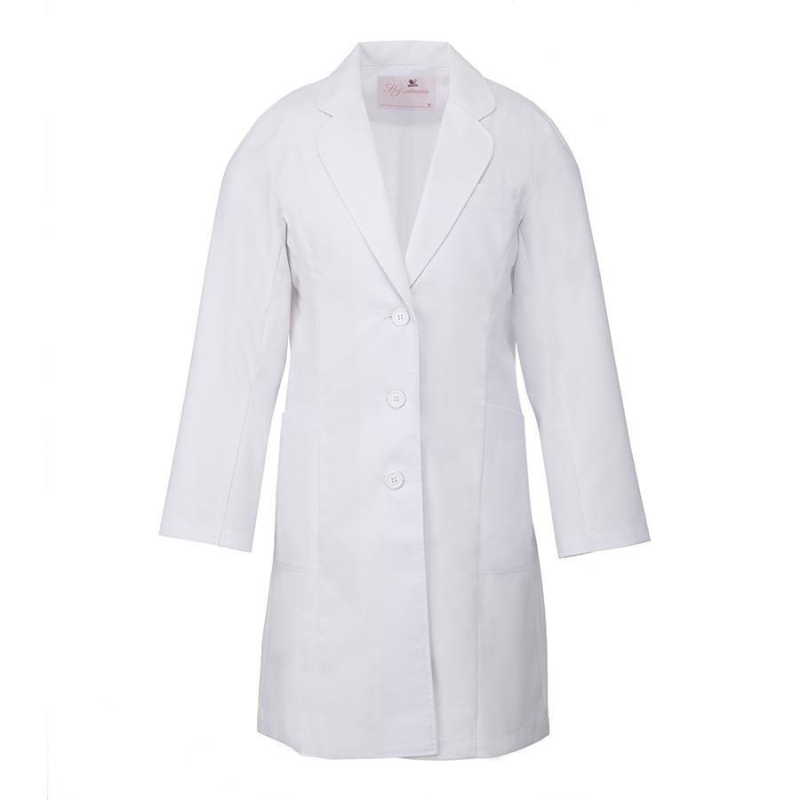 レディース ドクターコート HI401−1 ホワイト
