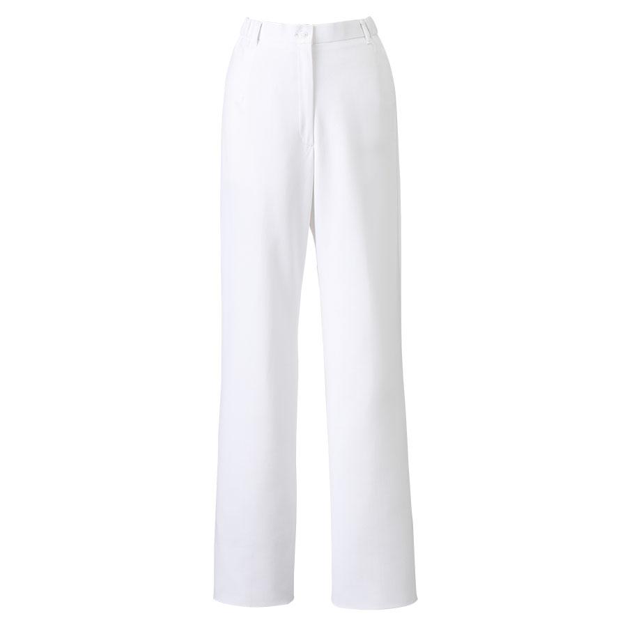 ナースウェア ストレートパンツ 2911−1 ホワイト