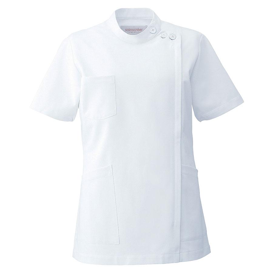 ケーシー 半袖 女子上衣 2010CR−1 ホワイト