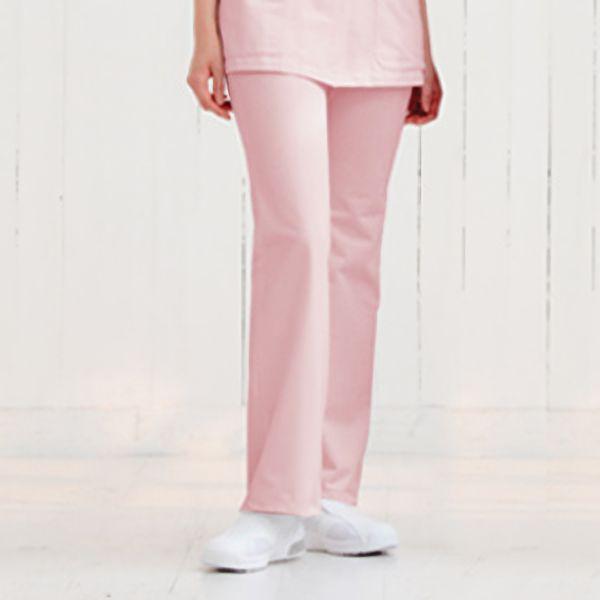 ナースウェア ブーツカットパンツ 2916−3 ピンク