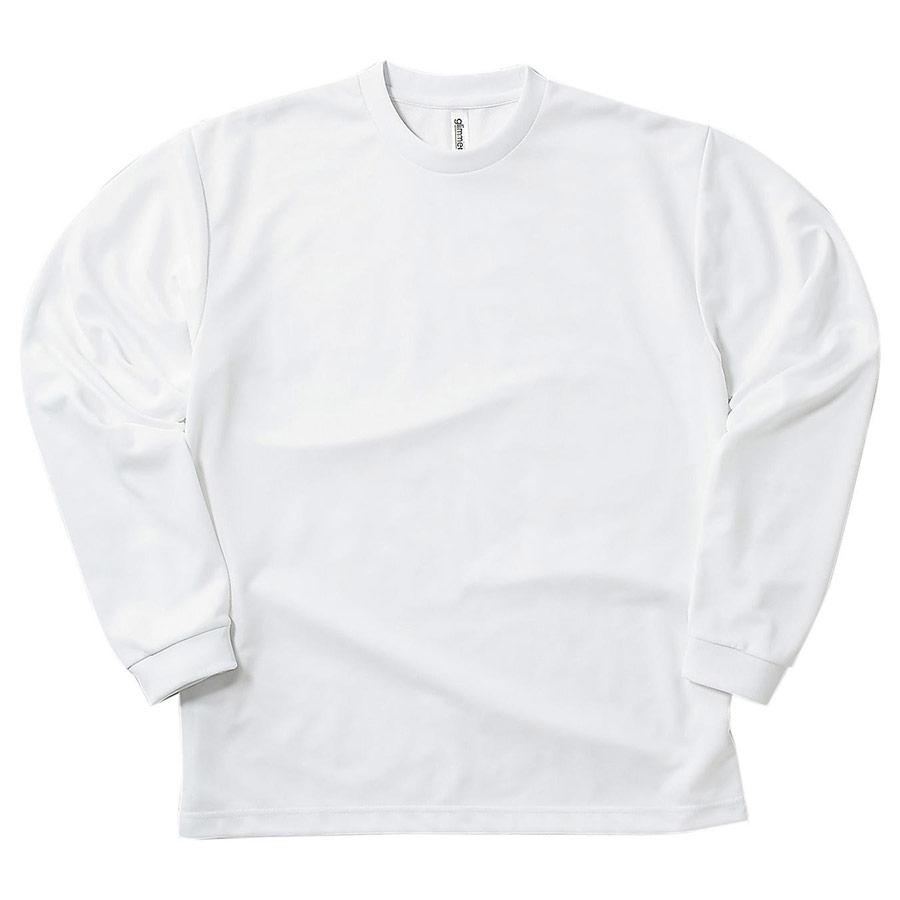 ドライロングスリーブTシャツ 00304−ALT 001 ホワイト 6L・7L