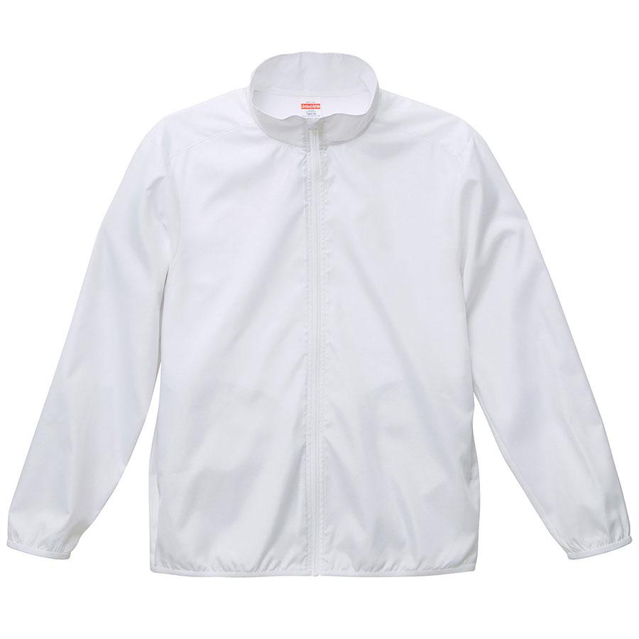 マイクロリップストップ スタッフ ジャケット (一重) 7061−01 001 ホワイト