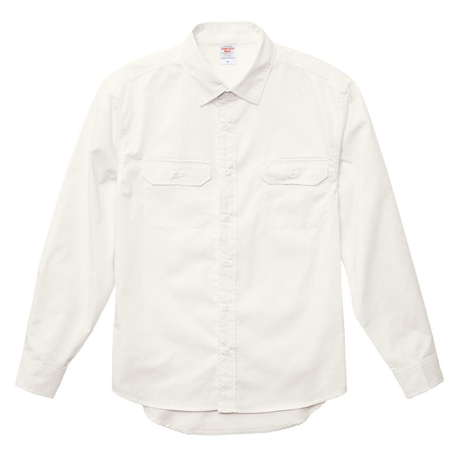 T/C ワーク ロングスリーブ シャツ 1773−01 003 オフホワイト