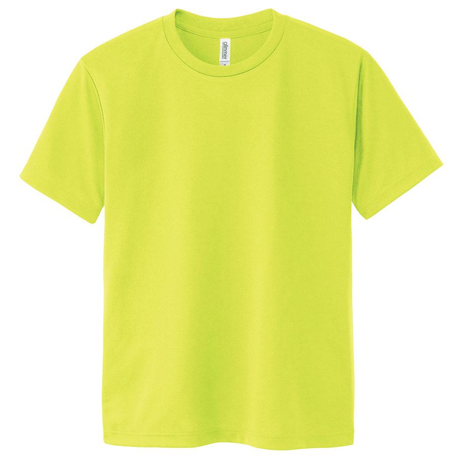 ドライTシャツ 00300−ACT 047 蛍光イエロー