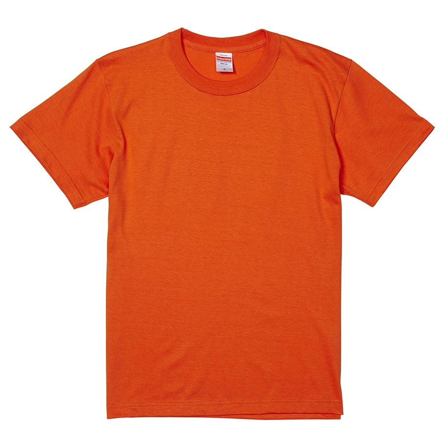 5.6oz ハイクオリティーTシャツ 5001−01 498 カリフォルニアオレンジ