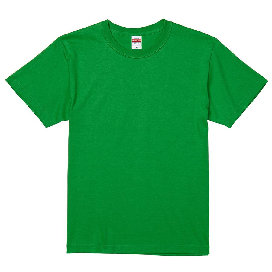 5.6oz ハイクオリティーTシャツ 5001−01 025 ブライトグリーン