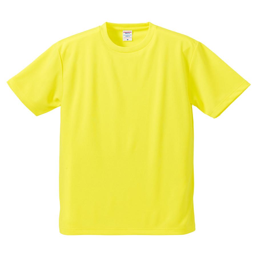 4.1oz ドライアスレチックTシャツ <アダルト> 5900−01 021 イエロー