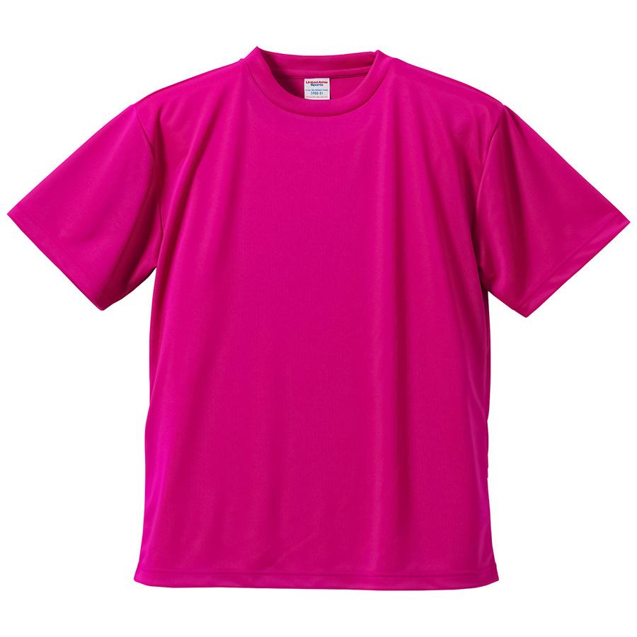 4.1oz ドライアスレチックTシャツ <アダルト> 5900−01 511 トロピカルピンク