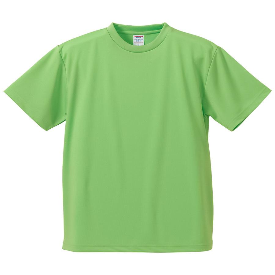 4.1oz ドライアスレチックTシャツ <アダルト> 5900−01 025 ブライトグリーン