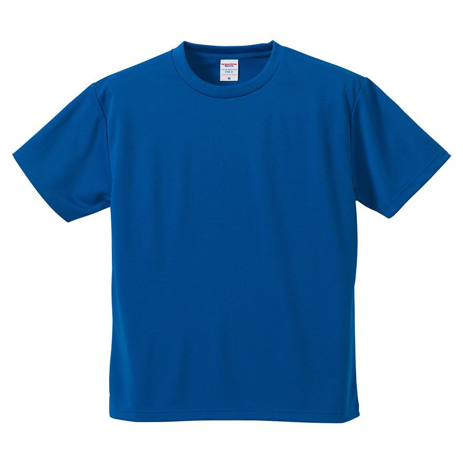4.1oz ドライアスレチックTシャツ <アダルト> 5900−01 084 コバルトブルー