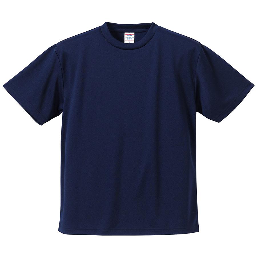 4.1oz ドライアスレチックTシャツ <アダルト> 5900−01 086 ネイビー