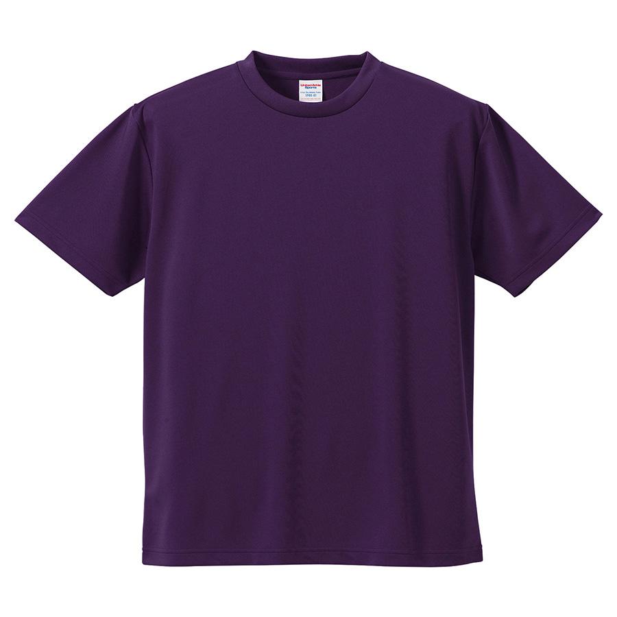 4.1oz ドライアスレチックTシャツ <アダルト> 5900−01 062 パープル