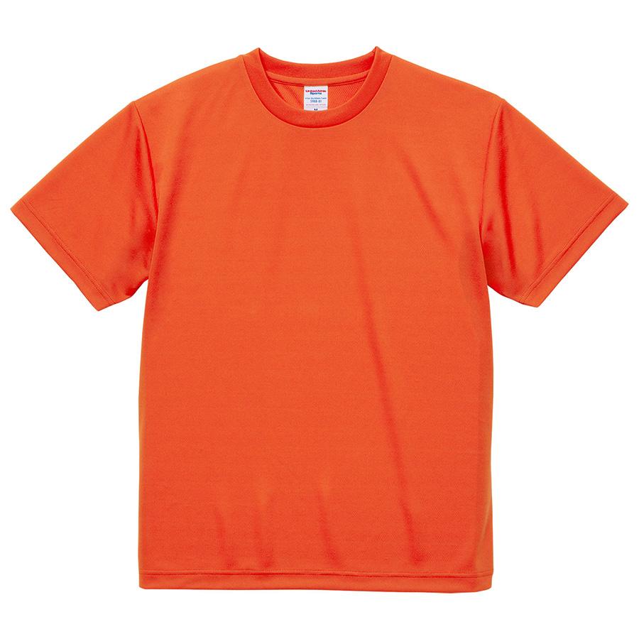 4.1oz ドライアスレチックTシャツ <アダルト> 5900−01 498 カリフォルニアオレンジ