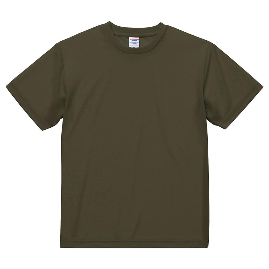 4.1oz ドライアスレチックTシャツ <アダルト> 5900−01 101 OD